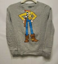 "Baleno x Toy Story Juniors (11-12 Years) ""Woody"" Pullover Gray Sweater~PRE OWNED"