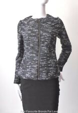 DAVID LAWRENCE Long Sleeve  Zip Front Boucle Jacket  Size 6 or US 2