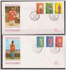 Surinam / Suriname 1978 FDC 21ab Klederdracht Costume kleidertraht