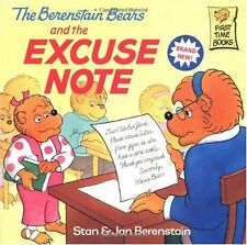 The Berenstain Bears and the Excuse Note by Stan Berenstain, Jan Berenstain