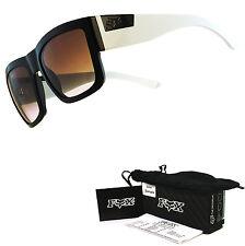 Fox The Decorum Sunglasses by Oakley Black & White -  Black Gradient Lens Sample