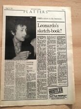 BOB DYLAN 'Basement Tapes reviewed' 1975 UK ARTICLE / clipping