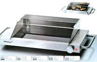 Steba GP3S Edelstahl Glasgrill Schott Ceran-Grillfläche Elektrogrill Tischgrill