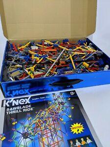 K'Nex Sawblade Thrill Ride 50085, 98% complete, few common pcs missing