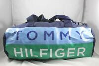 New Men Women Tommy Hilfiger TH Large Duffle Bag Gym Travel Handbag Purse Navy