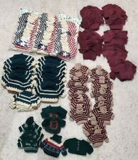 Lot Mini Knitted Sweaters For Teddy Bears Or Dolls