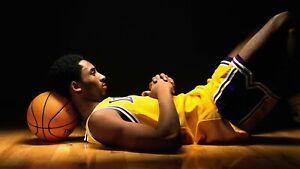Kobe Bryant Poster 12x18 Basketball Los Angeles Lakers MAMBA PHOTO NBA 8/24