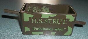 H.S. Strut Push Button Yelper Plastic Turkey Hunting Sportsmen Call Cedar Rapids