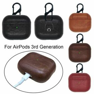 Bluetooth Earphone PU Leather Case For Apple AirPods 3rd Generation 2021 New