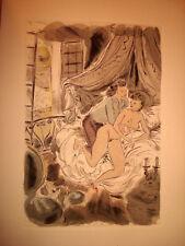 CURIOSA GRECOURT Contes galants illustré SCHEM 1952 N° 390
