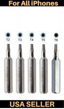 5pc*Precision Torx Screwdriver bits Set T2+T3+T4+T5+T6 Repair Tool Mobile Phone