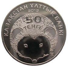 "KASACHSTAN  50 TENGE - ""IGEL"" - 2013 (St), UNC"