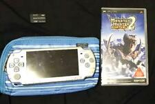 Sony PSP-White body Monster Hunter Portable 2nd from jAPAN