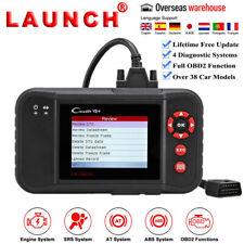 LAUNCH Creader X431 VII+ OBD2 Diagnostic Scanner Code Reader ABS SRS PK CRP123 X