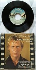 "ORIGINAL 1978 DAVID SOUL ""SILVER LADY "" 45 RPM VINYL SPANISH  FIRST EDITION"