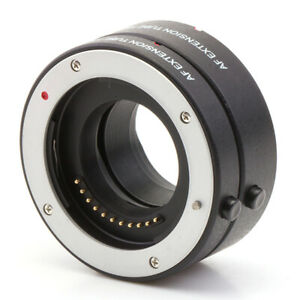 Autofocus Macro Extension Tube Micro4/3 G110/G100/G95 G91 E-M1 III/E-M10 IV/E-M5