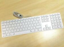 Apple MAC G6 A1243 Keyboard Wired USB w/ Numeric Keypad Full Size-UK/GB English