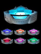 Corner 20 Jet Whirlpool Bath Shower Air Spa Jacuzzi Massage 1500mm 2 person