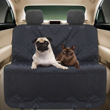Waterproof Pet Dog Cat Car Back Seat Cover Travel Hammock Black For Benz New