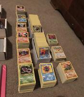 50 Lot PLAYED Original Vintage Rare Pokemon Cards Holo 1st Edition Shadowless