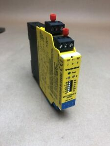 TURCK MK13-222EX0-R/24VDC AMPLIFIER INTRINSICALLY SAFE ISOLATING SWITCH * USED *
