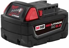 Milwaukee Lithium Ion M18 18 Volt XC Extended Capacity Battery Pack 5.0Ah