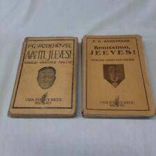 (P. G. Wodehouse) Benissimo Jeeves + Avanti Jeeves 1938 Bietti  45