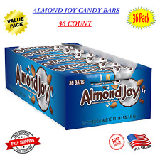 Almond Joy Chocolate Coconut Candy Bar 1.61 Ounce (Pack of 36) - On Sale Now