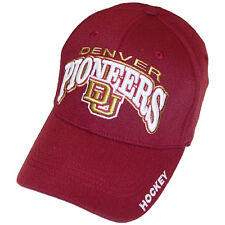 Denver Pioneers Hockey Top of the World Maroon Klozer OneFit Cap