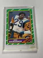 1986 TOPPS ERIC DICKERSON RAMS #78 (MR)