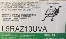 "Lightolier Recessed Downlight LYTECASTER 5"" Round Low Voltage Kit 2700K"