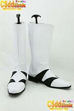 Inuyasha Sesshomaru cosplay shoes boots white 063