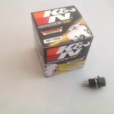 MAZDA RX7 1.3l k&n FILTRO DE ACEITE + Magnético Tapón de cárter