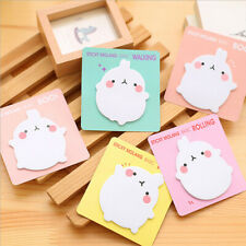 Stationery Notepad Label Sticker Cute Pad Memo Pad School Sticky Notes Office