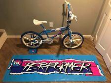 JUMBO BMX BIKE BANNER GT PERFORMER 6FT X 2FT MAUI BLUE 87