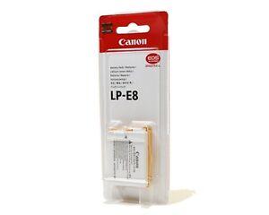 CAN-LP-E5-B Repuesto Recargable Batería 7.4V 1200mAh para cámaras réflex Canon