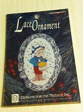 1995 Drummer Boy Designs For The Needle Make Your Own Lace Christmas Ornament