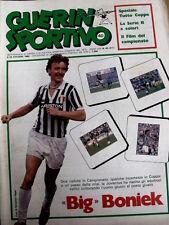 Guerin Sportivo 40 1982 Grande Boniek - Watford - Chinaglia Cosmos  [GS.32]