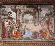 Ghirlandaio Domenico Adoration Of The Magi stampa in A4
