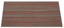 "SHAW Chevron Merge Pop of Red Carpet Tiles 18"" x 36"""