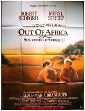 OUT OF AFRICA Souvenirs d'Afrique Affiche Cinéma / Movie Poster REDFORD STREEP