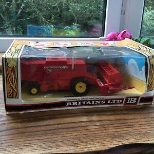 Britain's 1978 Farm - 9570 Massey Ferguson Combine Harvester 1:32 scale boxed