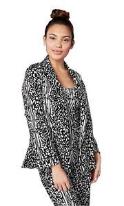 BedHead Pajamas King Cheetah Stretch Bed Jacket, Tank & Pant Set - 1267-SH7-7571