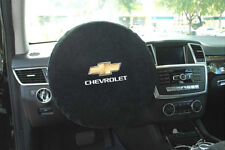 Seat Armour -Steering Wheel Cover w/ Chevy Logo & Script Embroidery SWA100CHVB