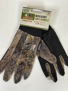 One Pair Mossy Oak Men Size Large Mesh Hunting Gloves Predator Touch Control