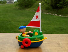 PBS CAILLOU Figure & Sail Boat ~ Sailor Caillou Playset -more to choose from!