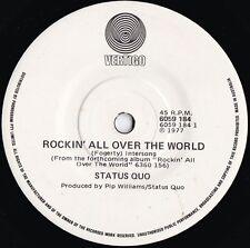 Status Quo ORIG OZ 45 Rockin' all over the world EX '77 Vertigo 6059184