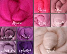 PRINCESS Palette Wool Roving Fiber 2.5 oz. /70 gms. Needle Felting Spinning Soap