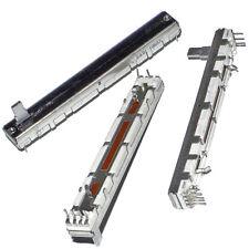 10pcs/lot New Dustproof Sliding Push Single Joint Potentiometer B10K 75*10mm