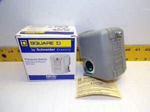 NEW SQUARE D PRESSURE SWITCH 95-125 PSI  9013FHG12J52  SERIES C